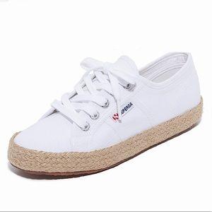 SUPERGA 2750 Cotropeu Espadrille White Sneakers